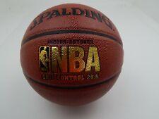 Spalding NBA Basketball Grip Control Pro 28.5 Mid Size Indoor Outdoor Gold Logo