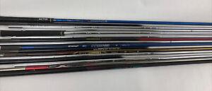 16 Assorted Golf shafts Fujikura TaylorMade Mamiya N.S. Pro Ping * No Reserve