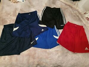Large Bundle Sports Shorts, Adidas, Nike, YL, 13-14