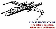 Star Wars X-Wing Game Graphic Die Cut decal sticker Car Truck Boat Window 7""