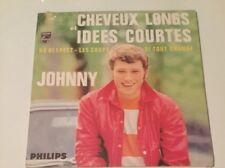 JOHNNY HALLYDAY CHEVEUX LONGS ET IDÉES COURTES CD 4 TITRES NEUF SOUS BLISTER
