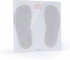 Aozo Elegant Quality White Usb Charging Digital Body Weight Bathroom Scale with