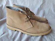 Clarks Original Desert Boots Khaki Suede Leather Ankle Shoes 70529 Mens 11 EUC