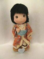 Vintage Precious Moments Worlds Children Japanese Applause Doll Setsu w/stand