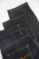 RRP €139  NUDIE HANK REY FADED COATED INDIGO Men's W29/L30 Faded Jeans 2577_mm