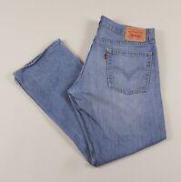 Vintage LEVI'S 514 Blue Slim Straight Fit Men's Jeans 36W 30L 36/30 /J21107