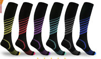 Compression Socks (15-20mmHg) for Men & Women BEST Stockings for Running Travel