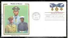 US SC # 2045 Medal Of Honor FDC. Colorano Silk Cachet