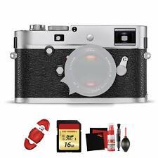 Leica M-P (Typ 240) Digital Rangefinder Camera (Silver Chrome)  and Bundle
