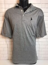 Rare Limited Men's Polo Golf Ralph Lauren Grey Large Polo Shirt Drummer Logo