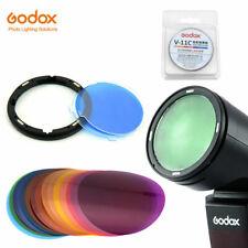 Godox AK-R16 Magnetic Mount Plate with Godox V-11C Color film for Godox V1 Flash