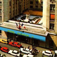 Vintage 1983 Hotel George V Paris Cars Postcard France