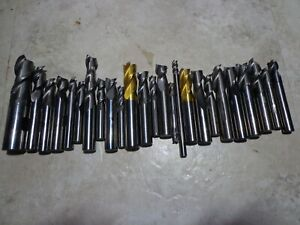 Large Lot (25) Carbide End Mills