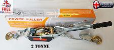 2 Ton Tonne Double Gear Car Van Boat Truck Farm Recovery Hand Puller Winch Hoist