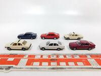 CG475-0,5# 6x Herpa H0/1:87 PKW-Modell BMW 5er: 528i Taxi + 535i, NEUW