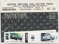 Australia 2002 Motor Racing Self Adhesive Collectors Stamp Pack