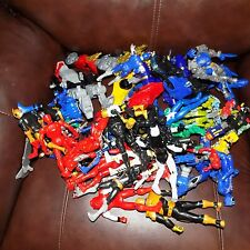 Power Rangers Figures Lot Of 50 Plus Figures and Accessories