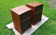 "Wharfedale W60D VIntage 3 way Speakers 12"" Woofers British Audiophile (GREAT)"