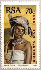 RSA SÜDAFRIKA SOUTH AFRICA 1996 1021 Natl. Frauentag Women Day Afrikanerin MNH