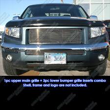 Fits 2005-2008 Honda Ridgeline Billet Grille Combo