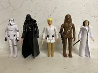 5 X Star Wars Retro Collection Action Figues Hasbro / Kenner Wave 1