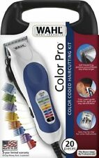 Wahl Professional Hair Cut Trimmer 20 Piece Kit Clippers Haircut Barber Set Pro