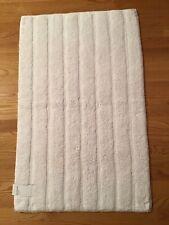 Nordstrom Velour Ribbed Bath Rug White