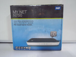 Western Digital My Net N750 450 Mbps 4-Port Gigabit Wireless N Router