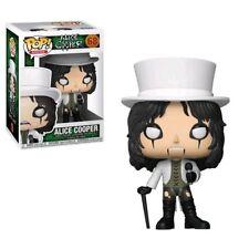 """Alice Cooper 3.75"""" POP Rocks Figura in Vinile Funko 68 Venditore Regno Unito"""