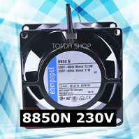 ebmpapst 8850N High temperature cooling fan 230VAC 12.5/11W 80*80*38MM 2wire