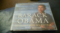 dreams from my father,barack obama,6 disc audio book,read by barack obama