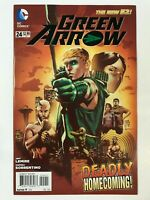 GREEN ARROW #24 (2013) | 1ST FIRST JOHN DINGLE IN DC COMICS