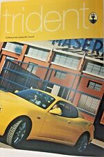 TRIDENT THE MASERATI CLUB MAGAZINE  ISSUE 83  SUMMER 2001- V. good condition
