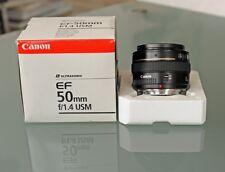Canon EF 50 mm F/1.4 USM Objektiv, AF Ultraschallmotor, sehr guter Zustand