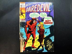 Daredevil Comic Book No. 57 October 1969 Marvel Comics #57