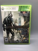 Crysis 2 Limited Edition (Microsoft Xbox 360, 2011) Complete with Manual C