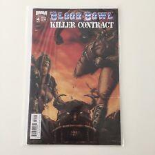 Blood Bowl Bande Dessinée Numéro 4 Games Workshop Titan tueur contrat Cover B