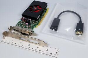 AMD Radeon R7 350X 4GB PCIe x16 DVI DisplayPort HDMI Adapter Win 10 Video Card