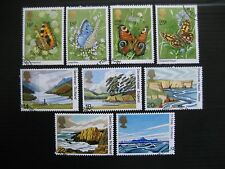 GB 1981 BUTTERFLIES/NATIONAL TRUST 2 FULL SETS SG1151/9 VFU STAMPS