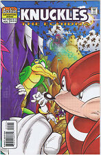 KNUCKLES THE ECHIDNA #15 Aug 1998 Issue - NM/MINT Cond. - KEN PENDERS - Signed