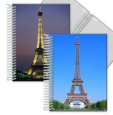 Eiffel Tower Paris Night and Day Photo Album Lenticular Flip 4x6 In. #PA4X6-602#