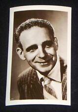 Paul Stewart 1940's 1950's Actor's Penny Arcade Photo Card