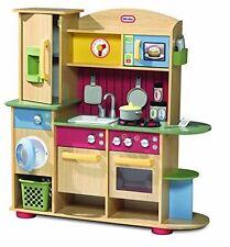 Little Tikes Premium Cooking Creations Wood Kitchen 618697E5C 050743609893