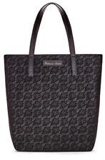 New! Victoria's Secret Black Floral Lace Print Tote Bag Shopping Bag Gym Bag