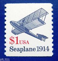 Sc # 2468 ~ $1 Seaplane Issue, Dull Gum (bk15)
