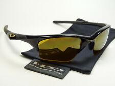 Oakley Half Jacket Black Gold Sonnenbrille Racing Fast Straightback Flak Jawbone