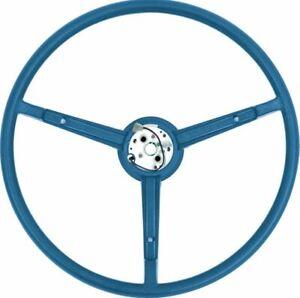 OER A/B-Body Blue Pebble Grain Steering Wheel 1970 Dart Duster Charger Valiant
