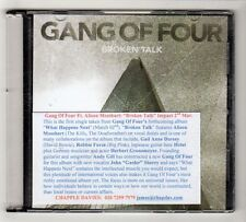 (HA722) Gang Of Four Feat, Alison Mosshart, Broken Talk - 2015 DJ CD