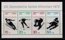 Briefmarken aus Deutschland (ab 1945) mit Motiven der Olympischen Spiele