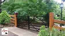 Steel Gates Double Swing, Country, Driveway, Farm, Entrance Gate